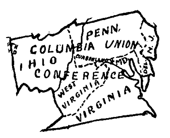Columbia Union Conference Boundaries