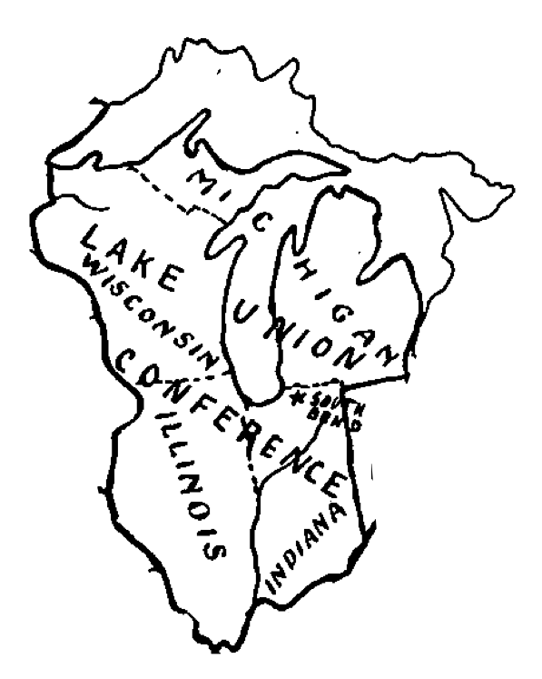 Lake Union Conference Boundaries